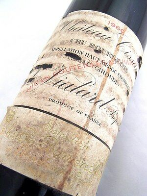 1960 CHATEAU CISSAC Cru Bourgeois Red Bordeaux Low Level Isle of Wine