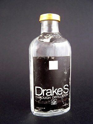 Miniature circa 1970 DRAKES DRY GIN Isle of Wine