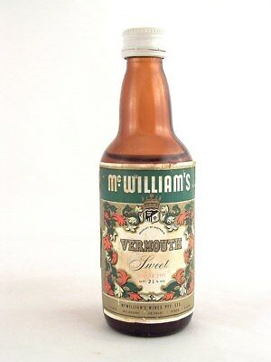 Miniature circa 1969 McWILLIAM'S SWEET VERMOUTH Isle of Wine