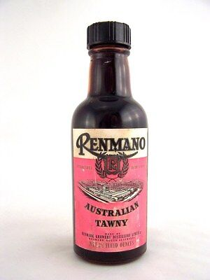 Miniature circa 1973 RENMANO AUSTRALIAN TAWNY 75ml Isle of Wine