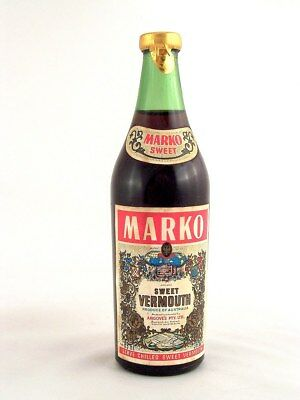 Miniature circa 1974 MARKO SWEET VERMOUTH Isle of Wine