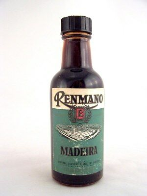 Miniature circa 1973 RENMANO MADEIRA 75ml Isle of Wine
