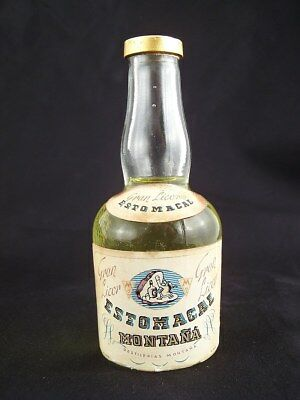 Miniature circa 1975 ESTOMACAL GRAN LICOR Isle of Wine