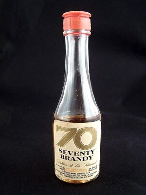 Miniature circa 1976 '70' SEVENTY BRANDY by ISOLABELLA Isle of Wine