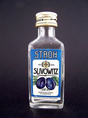 Miniature circa 1982 SLIVOWITZ by STROH Isle of Wine