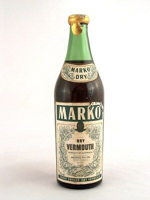Miniature circa 1974 MARKO DRY VERMOUTH Isle of Wine