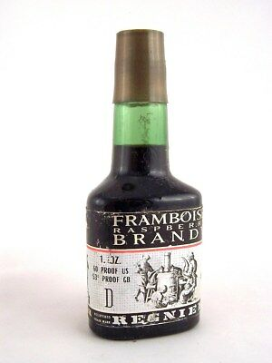 Miniature circa 1974 REGNIER FRAMBOISE RASPBERRY BRANDY Isle of Wine