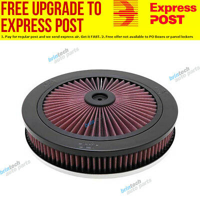 """K&N 66-3110 Custom Air Filter Assembly 11 OD x 2-5/64"""" H Suit Neck Size 5-1/8"""""""