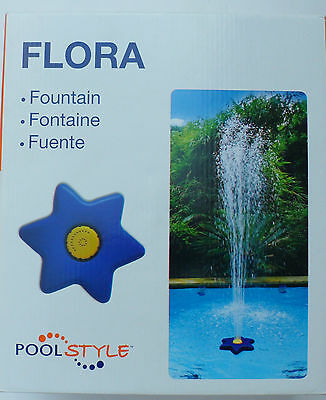 Pool Style Swimming Pool Floating Flora Fountain