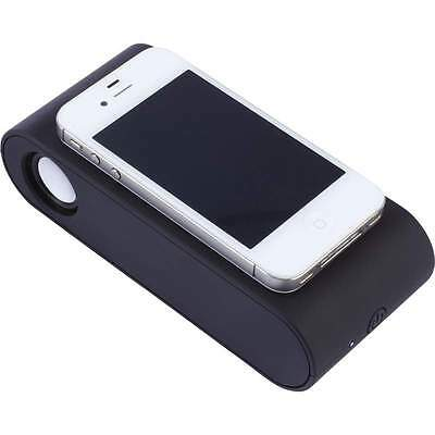 NEW Mini WIRELESS INDUCTION Cell Phone DUAL SPEAKER Portable Mobile Audio Music