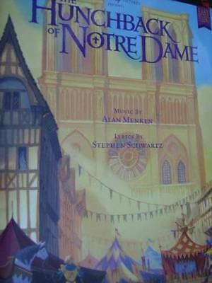 Disney's Hunchback Of Notre Dame Music Book Easy Piano