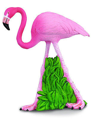 FREE SHIPPING | CollectA 88207 Flamingo Toy Bird Figurine - New in Package