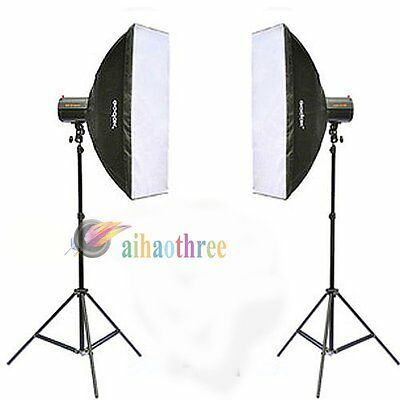 GODOX 160DI 320W 2x160w Photography Video Studio Strobe Flash Light Head Kit【AU】