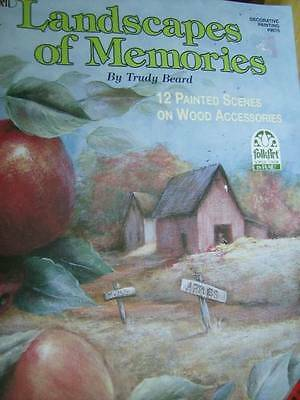 Landscapes Of Memories Painting Book Apple Orchard, Potting Shed, Berry Patch