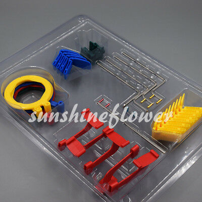 X-Ray Film Sensor Positioner Dental Oral Bite Blocks Instruments Set Holder Clip