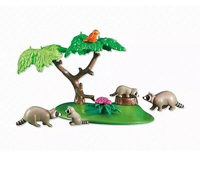 Raccoon Family PLAYMOBIL® 6317 New In Bag Add On