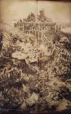 OFFICIAL DARK SOULS III 3 Cloth game map *NEW* - $37.49 | PicClick on