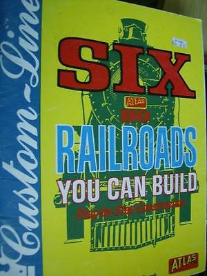 Six HO Railroads You Can Build Book 2nd Ed By Armstrong & Stepek, Paperback 1982