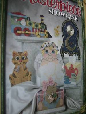 Masterpiece Showcase Plastic Canvas Craft Book Most Projects Shown!! Vickery