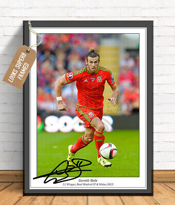 Gareth Bale Wales Football Autographed Signed Photo Print