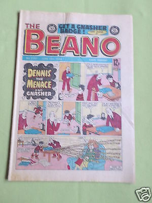 The Beano  - Uk Comic -16 June 1984 - # 2187