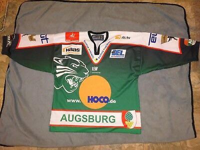Christian Wichert Game Used Hockey Jersey Bauer Augsburger Panthers Aevpanthers