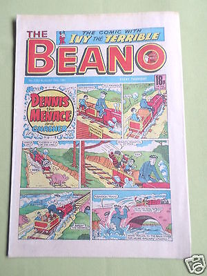 The Beano  - Uk Comic - 15 Aug 1987 - # 2352