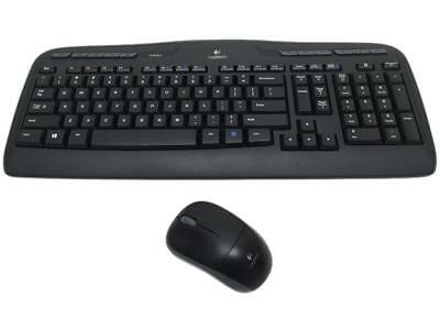 Logitech MK320 Black RF Wireless Desktop (Recertified)