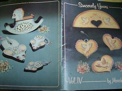 Sincerely Yours Painting Book #4 Rocking Horse, Birds, Flowers, Cats, Geese Mice