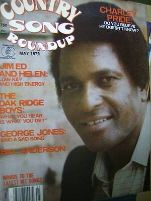 Country Song Roundup Magazine May 1979 Charley Pride, Jim Ed & Helen, Oak Ridge