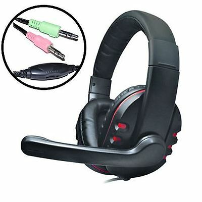 Dynamode DH-878 Surround Sound PC Gaming Headphones & Microphone 3.5mm Jack