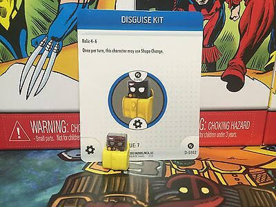 Heroclix Disguise Kit - D-R102  DC Convention Exclusives w/ Card