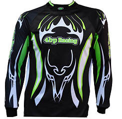 4BP Jersey MOTOCROSS Green or Yellow/Blue MX BMX Kids/youth XS-XL