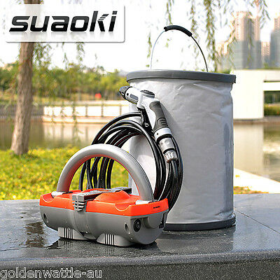 Portable High Pressure Water Cleaner Electric Washer Gurney Pump Hose Cleaning