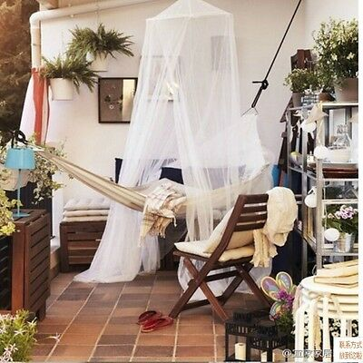 Kids Baby Canopy Holder Cot Bed Pole Rod Bar Clamp Drape Mosquito Net - LD