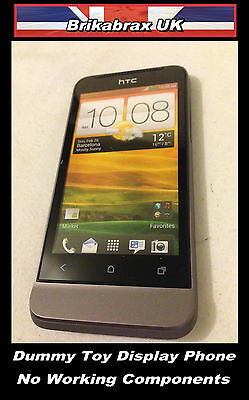 HTC Dummy Toy Mobile Phone ( Not Real ) Prop Display Handset New Boxed #HTC1A