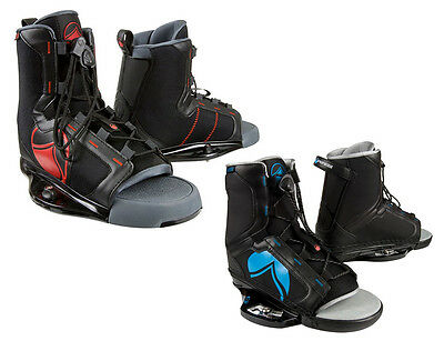 SALE! Liquid Force INDEX Wakeboard Bindings, UK 11-14.5, Black Blue or Red.19324