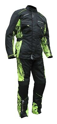 Wulfsport Alpina Hi-Viz And Camo Motorcycl  Motorbike Suit Enduro Rally& Trail