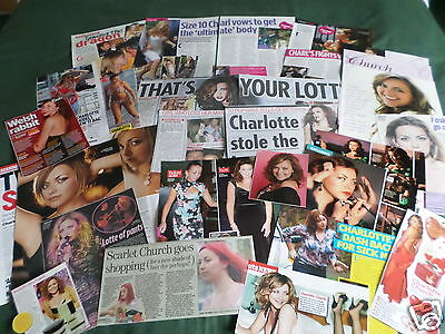Charlotte Church - Pop Music- Clippings /cuttings Pack