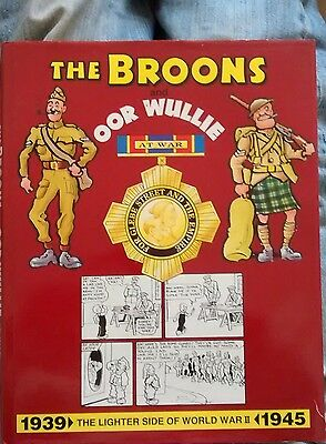 THE BROONS & OOR WULLIE   8  annuals