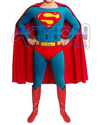 NEW Superman Adult Costume Silver Edition