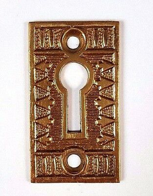 ~~~ Antique Decorative Escutcheon Many Available Key Hole Victorian Fancy Ornate