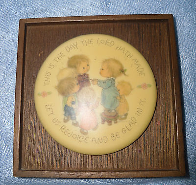 "Hallmark/Little Gallery Betsey Clark Ceramic Plaque ""Day the Lord Hath Made"""