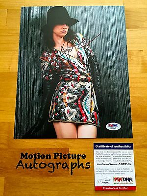 Juliette Lewis Signed 8X10 Photo Psa Dna Coa Autograph Ab39585