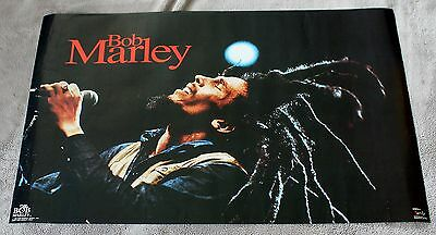 Bob Marley Pray 1992 Live Microphone Concert Funky Music Poster #3345 VG C6