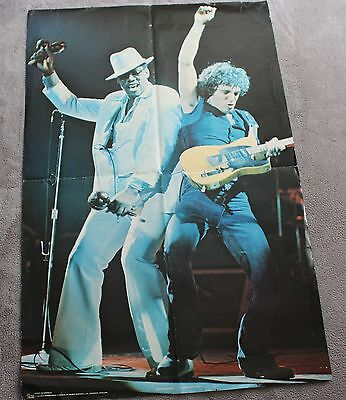 Bruce Springsteen Live Duet Concert 1980 Pace RARE PROMO Music Poster #P3276 GVG