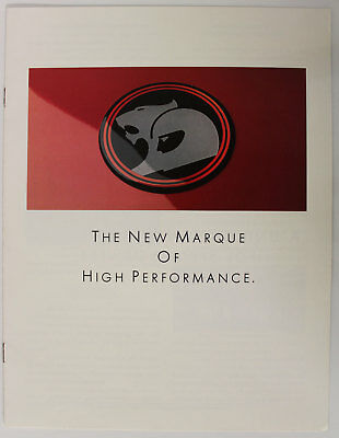 The New Marque of High Performance VL Walkinshaw HSV Holden Special Vehicles New