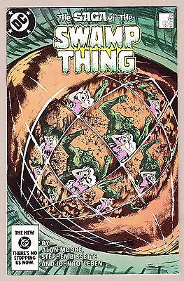 """Saga of the Swamp Thing #29 Alan Moore """"Incest"""" Issue"""