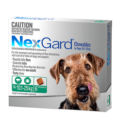 Nexgard Medium 6 Pack