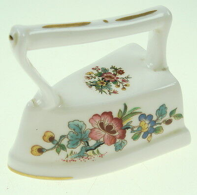 Vintage Porcelain Small decoration Iron made in England COALPORT EST 1750 Nr6837
